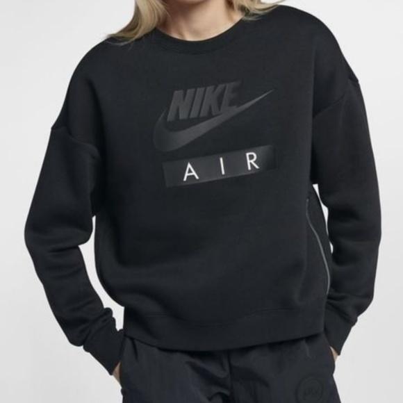 6436c35c7 Nike Womens Sportswear Rally Air Crew Neck Black. M_5cb3bf8dabe1ce4934c13872